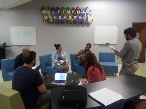 Contextual Inquiry with 2 AVHS Media Center Staff